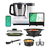 Multo By CookingPal, Smart Compact Countertop Multi-Functional Food Processor With Guided...