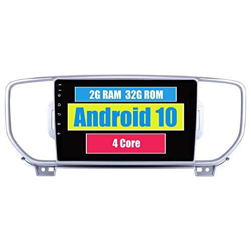 KLL Autoradio per Kia Sportage KX5 2016 2017 2018 con Android Lettore Multimediale Navigazione GPS Stereo Touch Screen Bluetooth WiFi USB Mirror Link