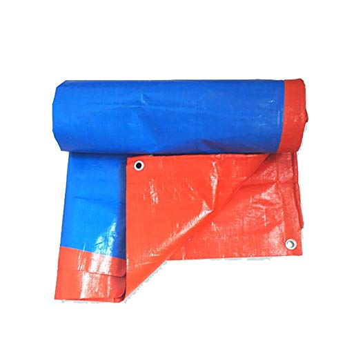 JD Bug Waterdichte regendichte cover Gronddoek covers Resistant luifel Resistant dekzeil Zonnescherm Zonnescherm Zonnescherm Visor Externe isolatie oranje, 180G / M2 (Afmetingen: 7 * 8m)