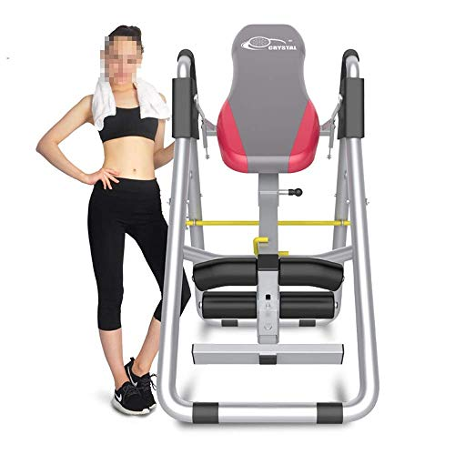 H.yina Equipo Fitness Cojín Duradero con Soporte para el Cuello - Tablas de inversión Teeter Better Back Antideslizante (Color: Rojo, Tamaño: 60 * 120 * 180 cm)