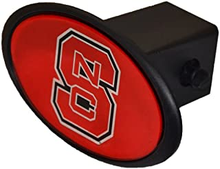 NCAA NC State Wolfpack Domed Car Hitch Cover (Red)