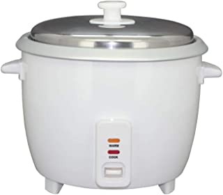 Home DU115 Rice Cooker 1.5 Liter keep Warm Function - White