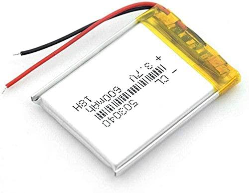 Batería Recargable De Polímero De Litio Batería Li Po 600 Mah Baterías...