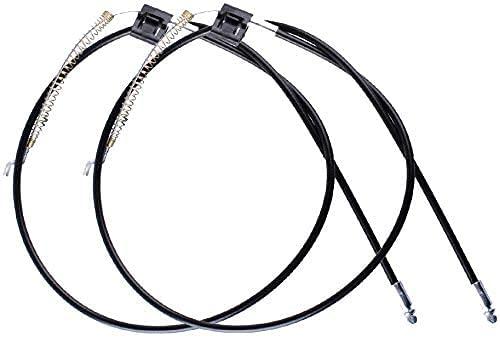 Cable de Sofá y Sillón Reclinable Relax Palanca de Liberación del Sofá - Longitud Total Aprox.94 cm por Poweka (2 Piezas)