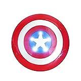 Avenger Super Hero Cosplay 32CM Capitán América Escudo Capitán América Figuras de acción Juguetes Vengadores Capitán América Escudo Juguetes Regalos Plástico Disfraces de Halloween Cosplay p