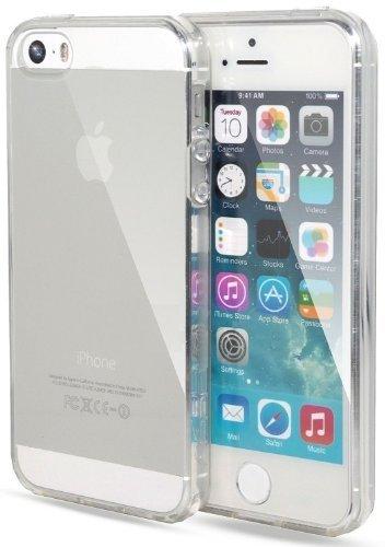 itronik Hülle kompatibel mit iPhone 5 5S 5SE TPU Hülle Schutzhülle Crystal Hülle Durchsichtig Klar Silikon transparent