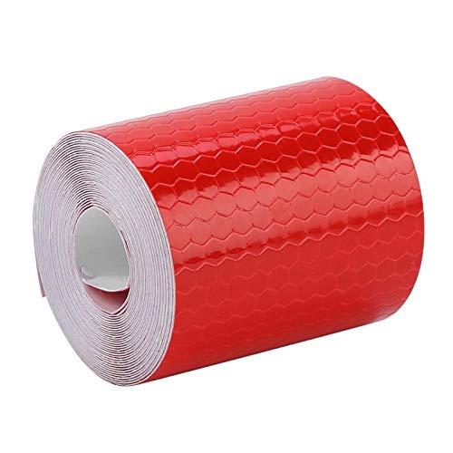 Adhesivo de seguridad práctico y duradero, ideal para bicicletas, camiones, remolques, botes para remolques, autos, bicicletas para conductores,(red)
