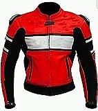 Corso Fashion Chaqueta de cuero de moto para hombre - Máxima protección– Hecho a medida Style100