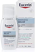 Eucerin Redness Relief Day Lotion - Broad Spectrum SPF 15 - Neutralizes Redness and Protects Skin - 1.7 fl. oz. Pump Bottle