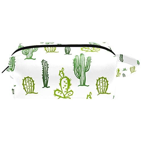 Bolsa de almacenamiento cosmética para mujer con cremallera, bolsa de maquillaje para colgar neceser de maquillaje, impermeable, bolsa de viaje de cuero para niñas y niños