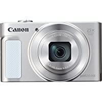 "Canon PowerShot SX620 HS - Cámara digital compacta de 20,2 Mp (pantalla de 3"", zoom óptico 25x, WiFi, NFC, video Full HD), blanco"