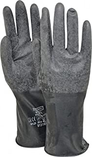 Honeywell B131R/8 Mil Unsupported Butyl Glove with Rough Finish 11