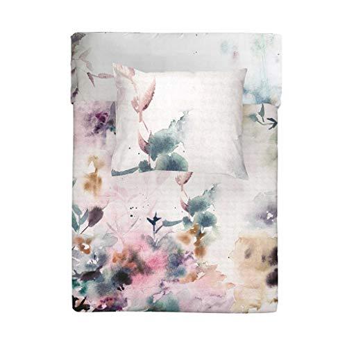 Walra Soft-Touch omkeerbaar beddengoed Flower Dust wit