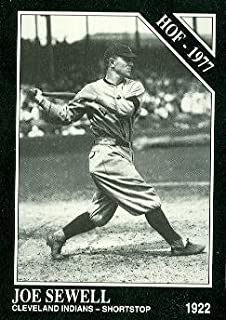 Joe Sewell Baseball Card (Cleveland Indians) 1991 Sporting News Conlon Collection #40