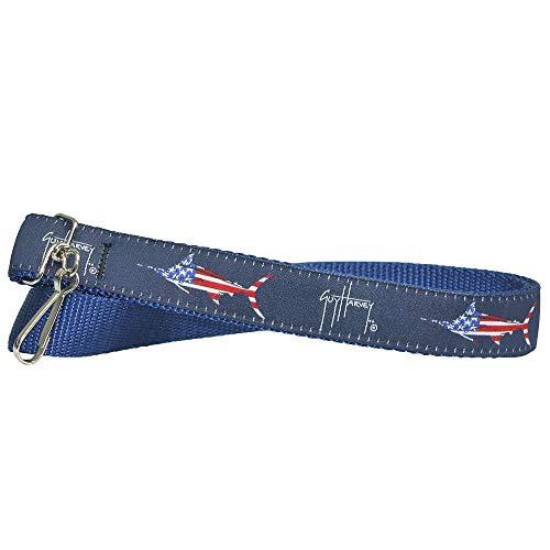 Guy Harvey Nautical Nylon Neck Lanyard for School Badge ID Holder Key Chain...
