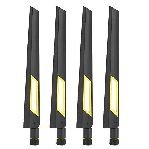 Sxhlseller Antena de enrutador de 4 Piezas, Antena de Tarjeta de Red SMA de Doble Banda 10dB para RT-AX88U AX6000 2.4G / 5G