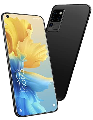 OUKITEL C21 (2021) SIMフリー スマホ 本体, 20MP AIカメラ 6.4インチFHD+, 4GB + 64GB 4000mAh Android10.0, デュアルSIM顔と指紋のロック解除 4Gスマートフォン 1 付き (黒)
