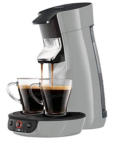 Senseo Viva Café HD6561/50 - Cafetera (Independiente, Máquina de café en cápsulas, 0,9 L, Dosis de café, 1450 W, Plata)