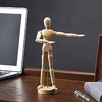 木製ヒューマンアート可動図面柔軟な関節マネキンマネキンフィギュア人形モデルスケッチマネキン手