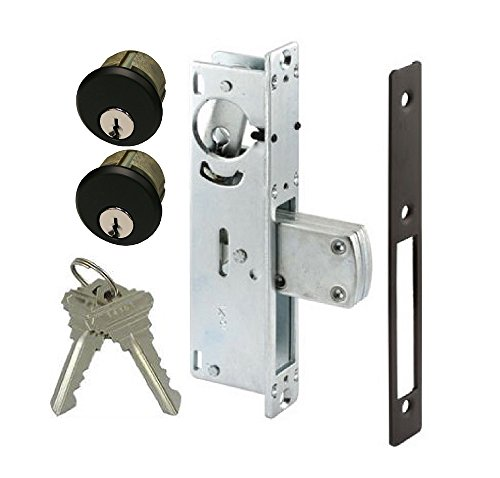 Pacific Doorware AR Rite Style Door Lock Mortise Deadbolt & Double Keyed Cylinder Set, in Duronotic (1-1/8