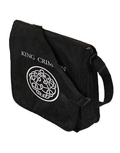 King Crimson - Borsa a tracolla in vinile con logo ufficiale