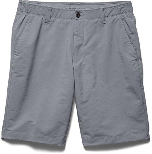 Under Armour Men's Match Play Shorts, Steel (035)/Steel, 42