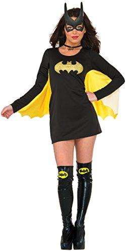 Rubie's womens Batgirl Adult Sized Costumes, As Shown, Medium Large US