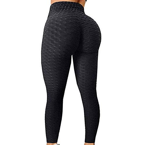 Nicejoy Leggins Leggings Yoga Deporte Femmeswomen De Cintura Alta Elevación del Extremo De La Panza De Control Elástico Gimnasia De Los Deportes De Los Pantalones L