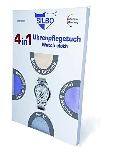 Silbo Uhren Pflegetuch 4in1-35 x 35cm - C322022
