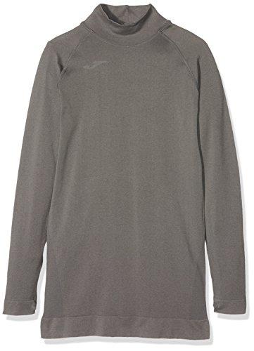 Joma Brama Classic - Camiseta térmica para niños, color gris, talla 12-14 años