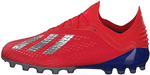 Adidas X 18.1 AG, Botas de fútbol Hombre, Multicolor (Rojact/Plamet/Azufue 000), 46 2/3 EU
