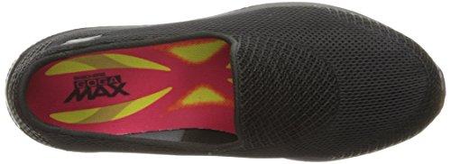 Skechers Go Walk 4-Propel, Zapatillas sin Cordones para Mujer, Negro (Black BBK), 41 EU
