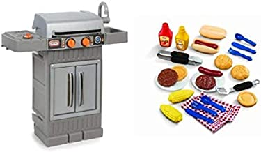 Little Tikes Cook 'n Grow BBQ Grill and Grillin' Goodies Bundle