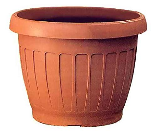 Bama Vaso per Piante, ABS, Color Terra Cotta, Ø 50 cm, Terracotta