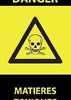 igsticker ポスター ウォールステッカー シール式ステッカー 飾り 841×1189㎜ A0 写真 フォト 壁 インテリア おしゃれ 剥がせる wall sticker poster 000041 ユニーク 危険 看板 ガイコツ