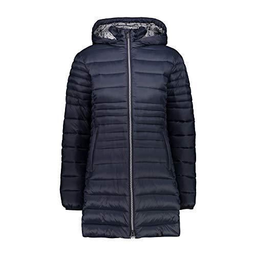 CMP Damen Parka Con Imbottitura 3M Thinsulate Jacke, Schwarz Blau, 40