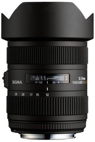 Sigma 12-24 mm F4,5-5,6 II DG HSM-Objektiv (82 mm Filtergewinde) für Pentax Objektivbajonett