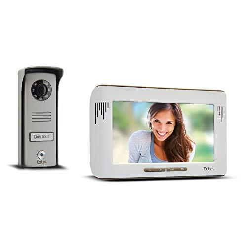 Extel 720215 Videoportero automático, Blanco,