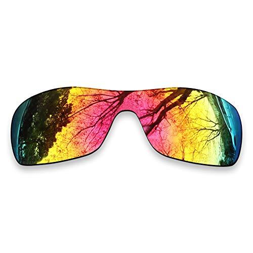 ToughAsNails Reemplazo de lente polarizada para Oakley Antix Sunglass - Más opciones, Naranja Fuego, Talla única