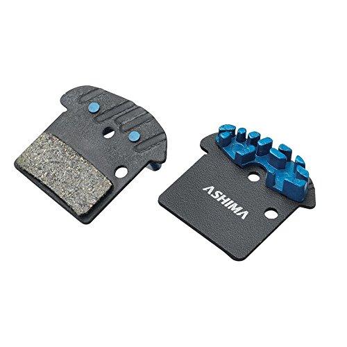 ASHIMA Paire de Plaquettes organiques Thermal Brake pour Shimano XTR M9000/ M9020 (pastilles Cycles)
