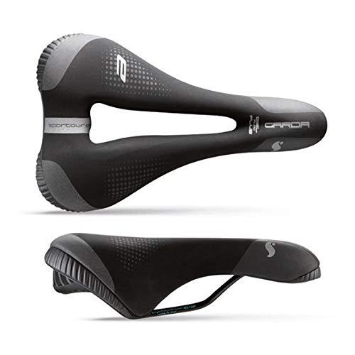 Sporttourer Unisex– Erwachsene Garda Man E-Bike Sättel, Black, Superflow