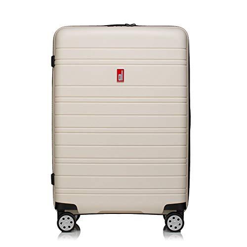 XBAO koffer trolley handbagage spinner Suitcase TSA-hangslot lichte greep aluminium 4 multidirectionele wielen (54 CM-75CM)
