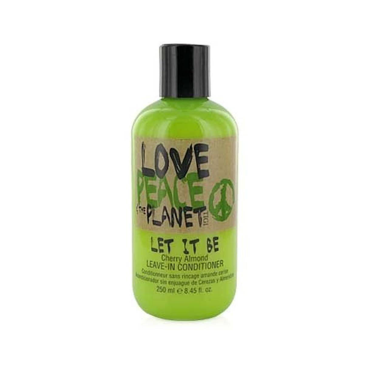 重力牛離婚TIGI Love Peace and The Planet Let It Be Cherry Almond Leave-in Conditioner 250 ml (並行輸入品)