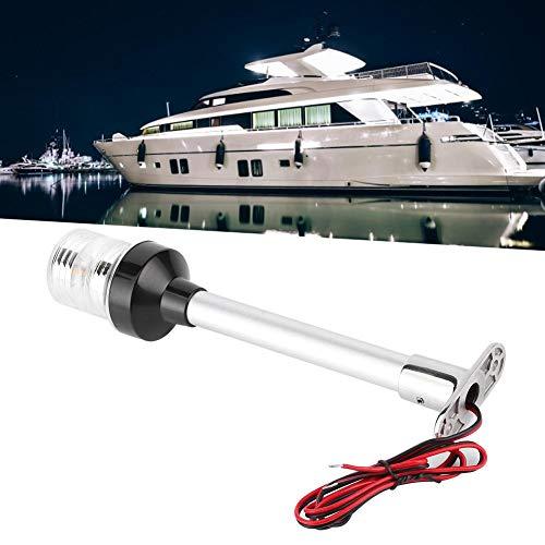 Verdelife Luce di segnalazione per yacht luce di ancoraggio impermeabile per imbarcazioni marine e yacht 12 V LED bianco a 360 gradi
