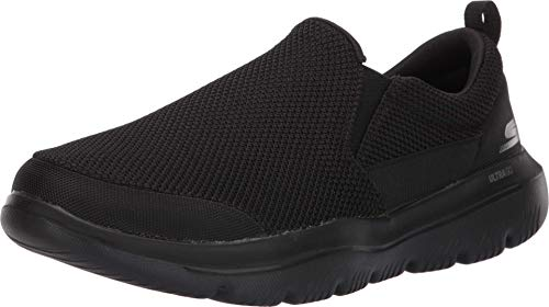 Skechers Men's GO Walk Evolution Ultra-Impeccable Sneaker, Black, 11 M US
