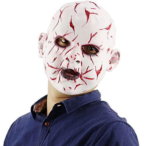 Mascara Halloween Payaso, Mscara Payaso Mascara de Ltex Terror Realista Careta de Payaso Aterrador para Disfraz de Adulto Halloween Carnaval Fiesta de Disfraces,Style 10