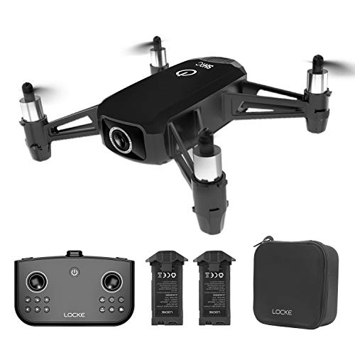 HR H2 WiFi RC Drone with 2K HD Wide Angle Camera, Gesture Control RC...