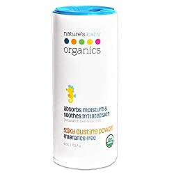Nature's Baby Organic Formula, Dusting Powder