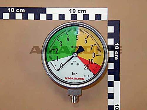 Manometer, Durchmesser 100, Original Amazonon