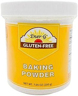 Aluminum-Free Baking Powder Substitute by Ener-G | Gluten Free, Vegan, Nut Free, Non-GMO, Kosher | 7.05 oz Package